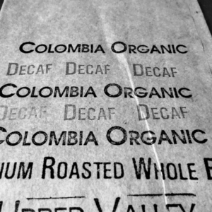 Colombia Decaf Bag