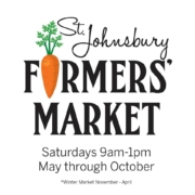 St. Johnsbury Farmers Market Sat 9-1pm